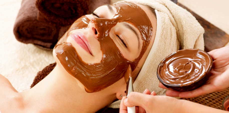 chocolate face pack